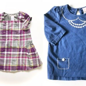 Janie and Jack 12 month dresses lot